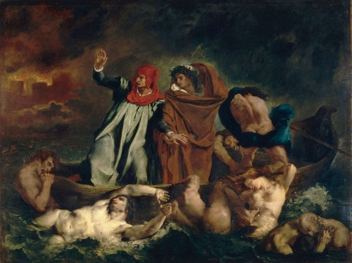 Peinture, Delacroix, Louvre, romantisme