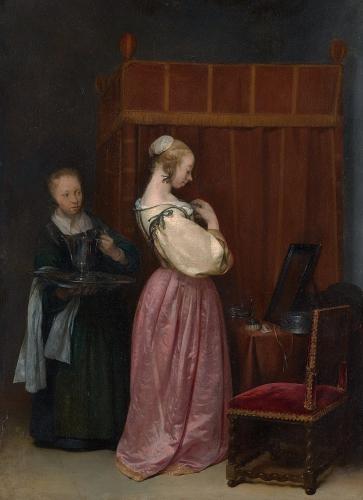 peinture,ter borch,hollande,louvre