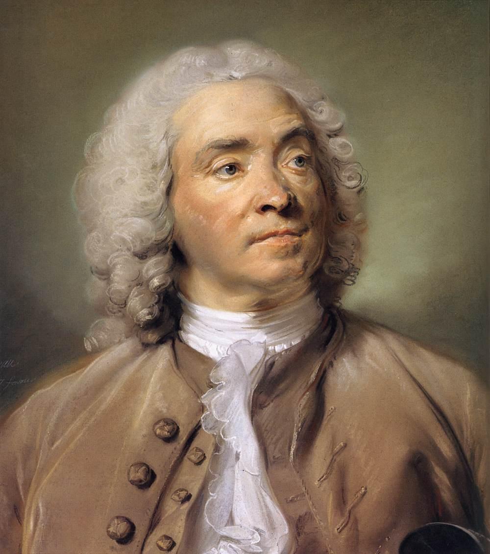 peinture, Perronneau, Louvre, pastel
