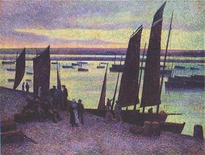 Luce - quai à camaret 1894.JPEG