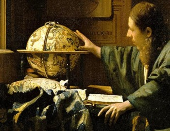 peinture,vermeer,louvre,astronome,