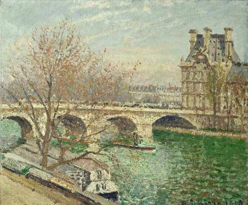 peinture,pissarro,impressionnisme,louvre