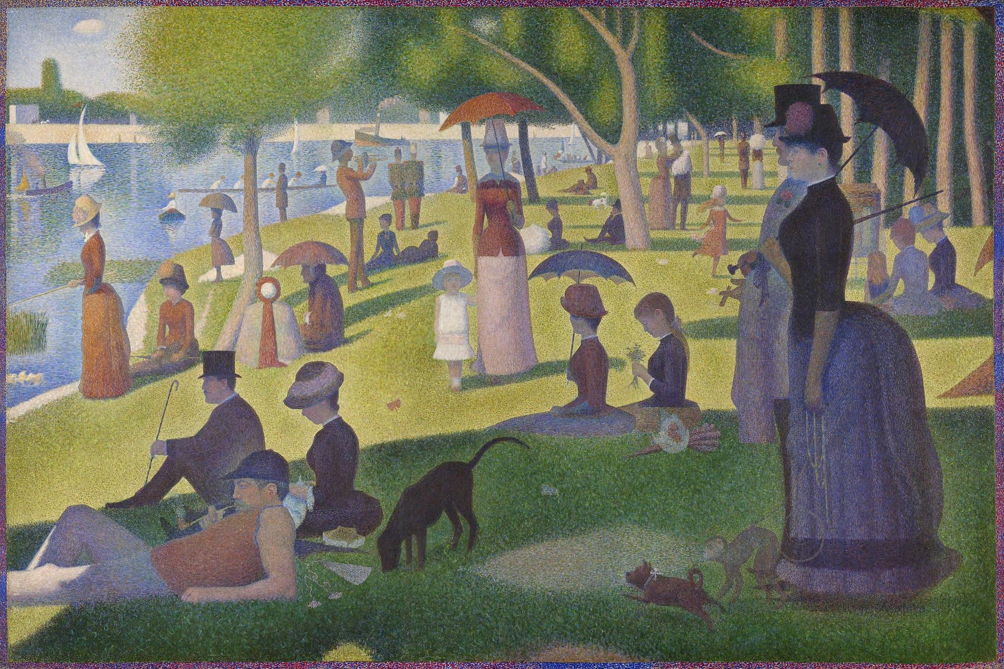 peinture,écriture,seurat,signac,néo-impressionnisme