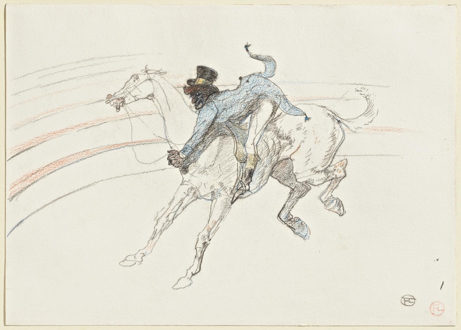 peinture, écriture, Toulouse-Lautrec, cirque