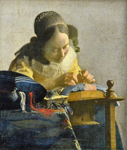 peinture, vermeer, hollande, louvre, peintres hollandais
