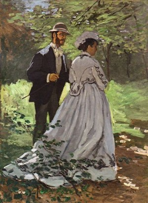 Monet - les promeneurs 1865 washington national galleryof art.jpg