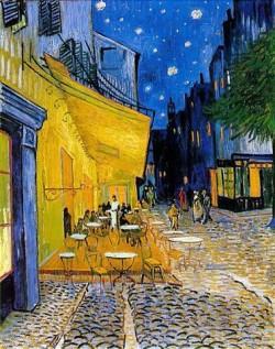 van gogh - terrasse café place forum arles de nuit 88.jpg
