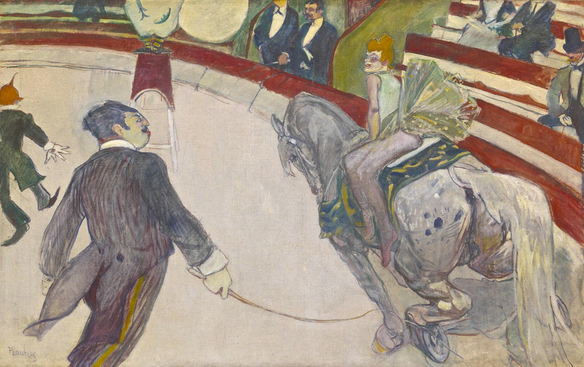 peinture, Toulouse-Lautrec, cirque