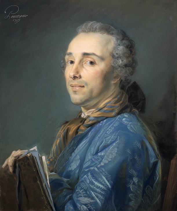 peinture, Perronneau, pastel