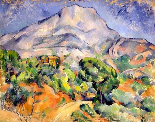 peinture,cézanne,sainte-victoire