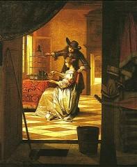 peinture,vermeer,de hooch