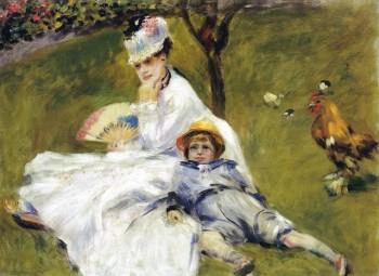 renoir-madame-monet et son fils jean à argenteuil 1874 national gallery.jpg