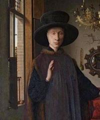 peinture,van eyck,époux arnolfini