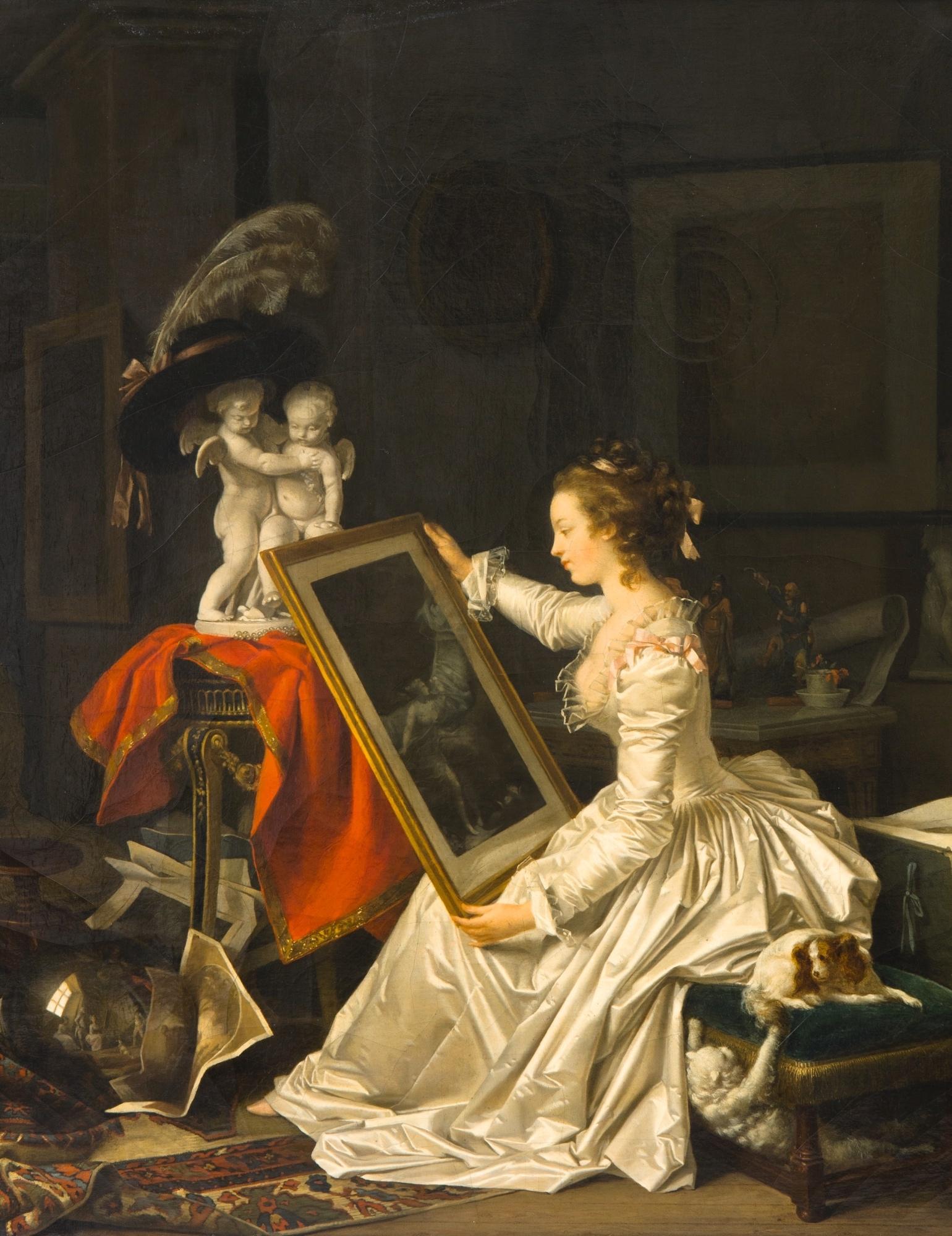 peinture,écriture,peintres femmes,luxembourg,gérard
