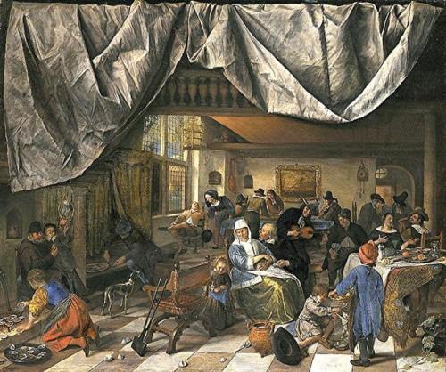 Jan_Steen - la vie de l'homme -1666-mautitshuis.jpg
