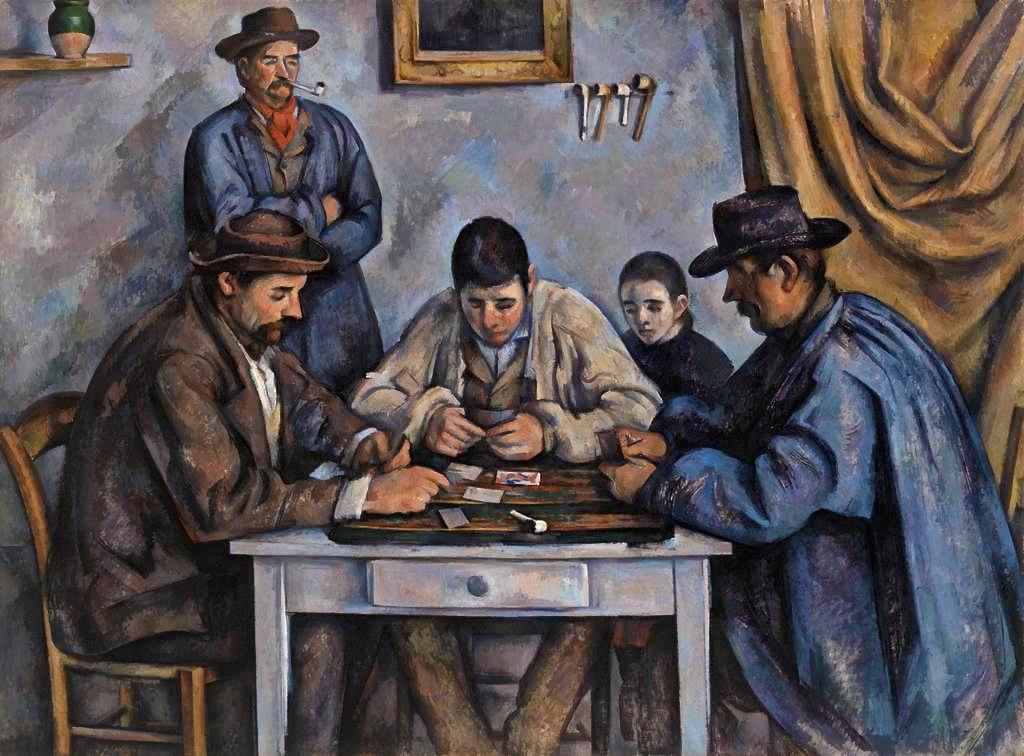 Barnes, Cézanne, Louvre,