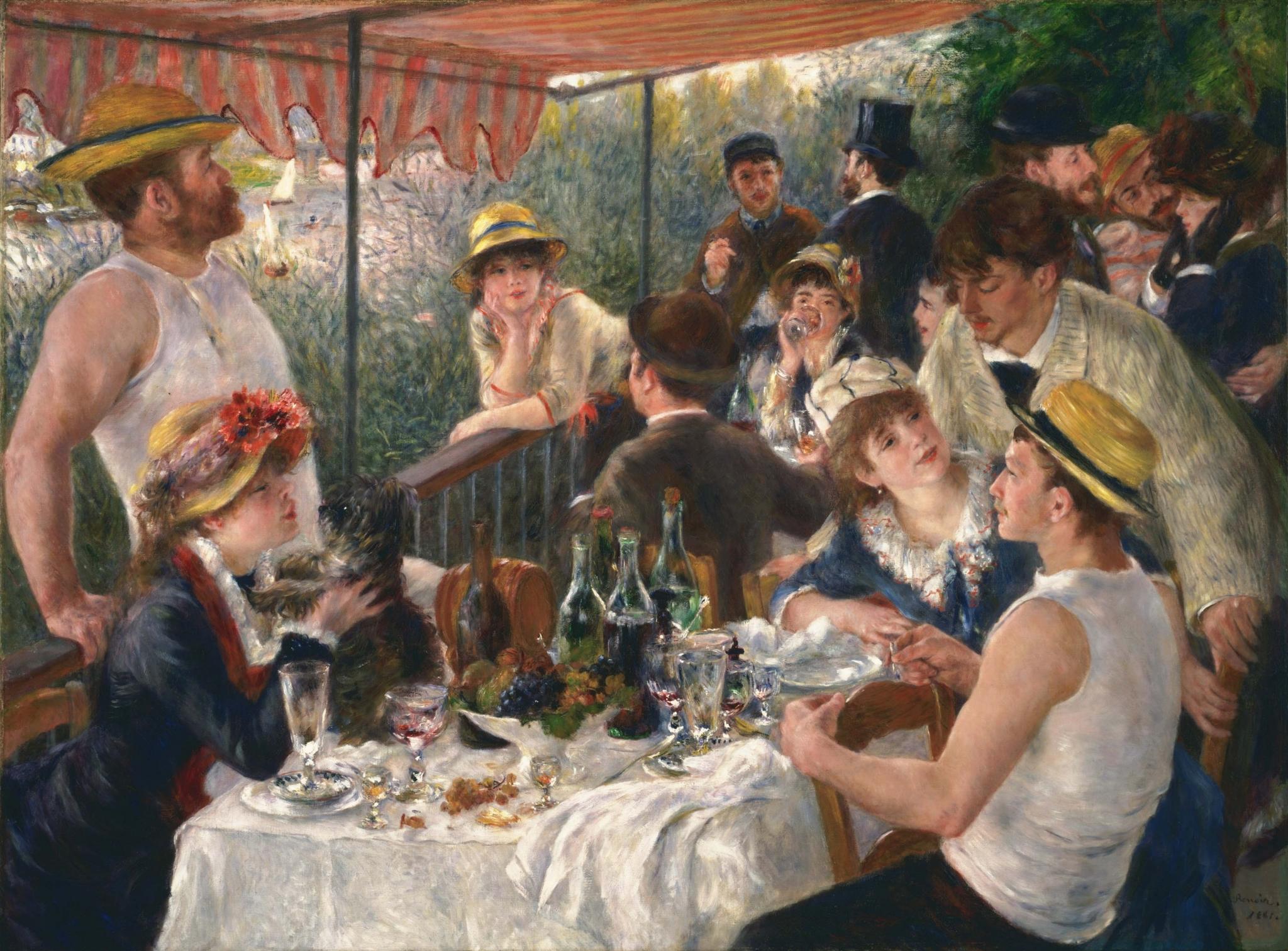peinture,swann,proust, Renoir
