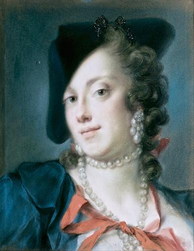 peinture,louvre,pastel,rosalba carriera
