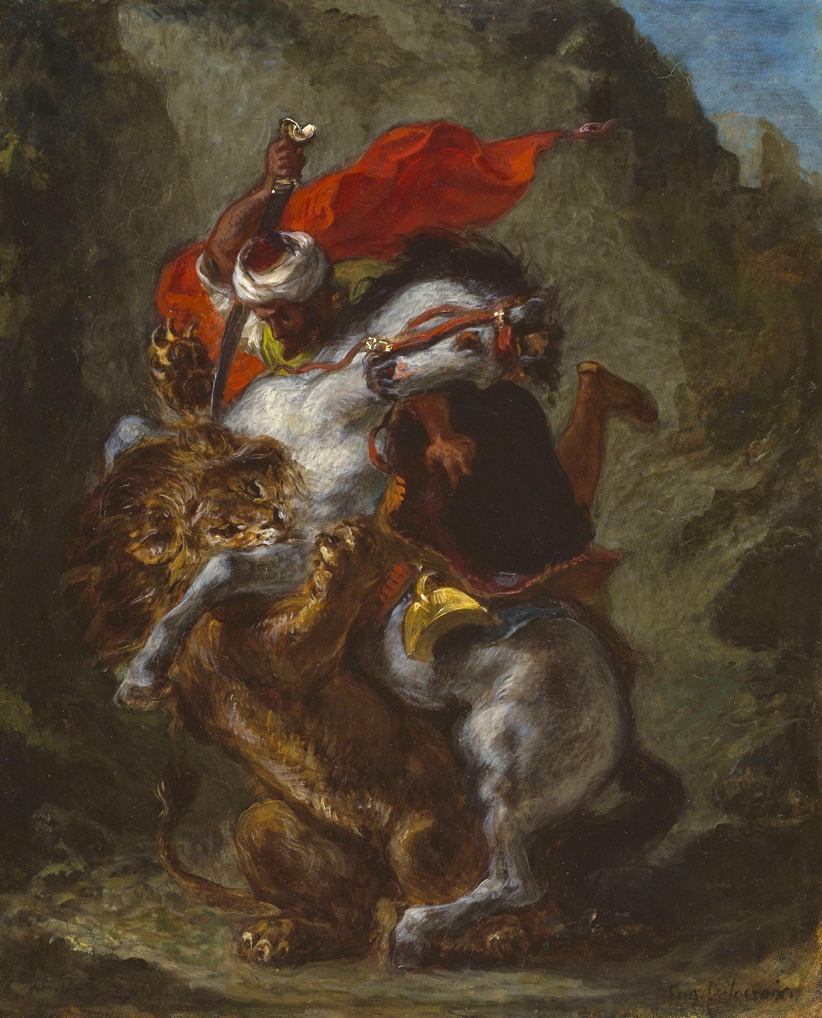 peinture,  delacroix