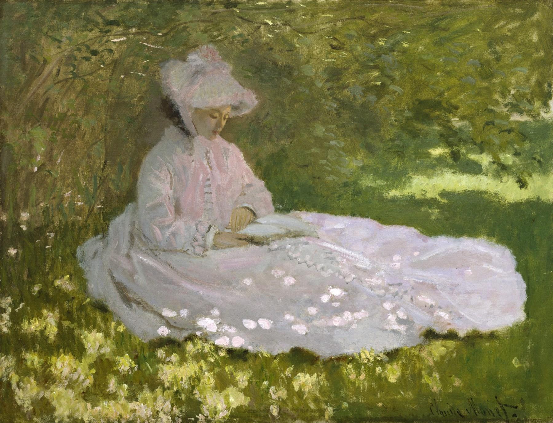 peinture,claude monet,camille,impressionnisme