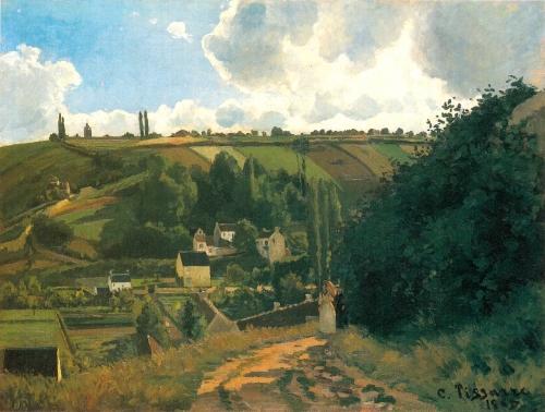 peinture,écriture,pissarro,impressionnisme