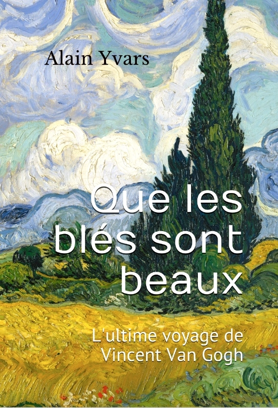 peinture, roman, van gogh, auvers-sur-oise, amazon