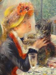 peinture,renoir,fournaise,chatou,impressionnisme