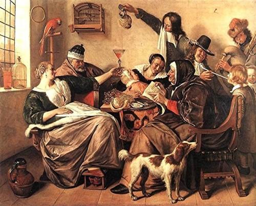 Steen - la famille de l'artiste -1665 -mauritshuis.jpg