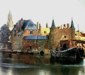 vermeer,mauritshuis,la haye,vue de delft