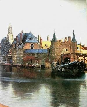 peinture,vermeer,delft