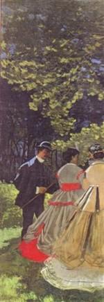 Monet - déjeuner sur l'herbe gauche 1865 orsay.jpg