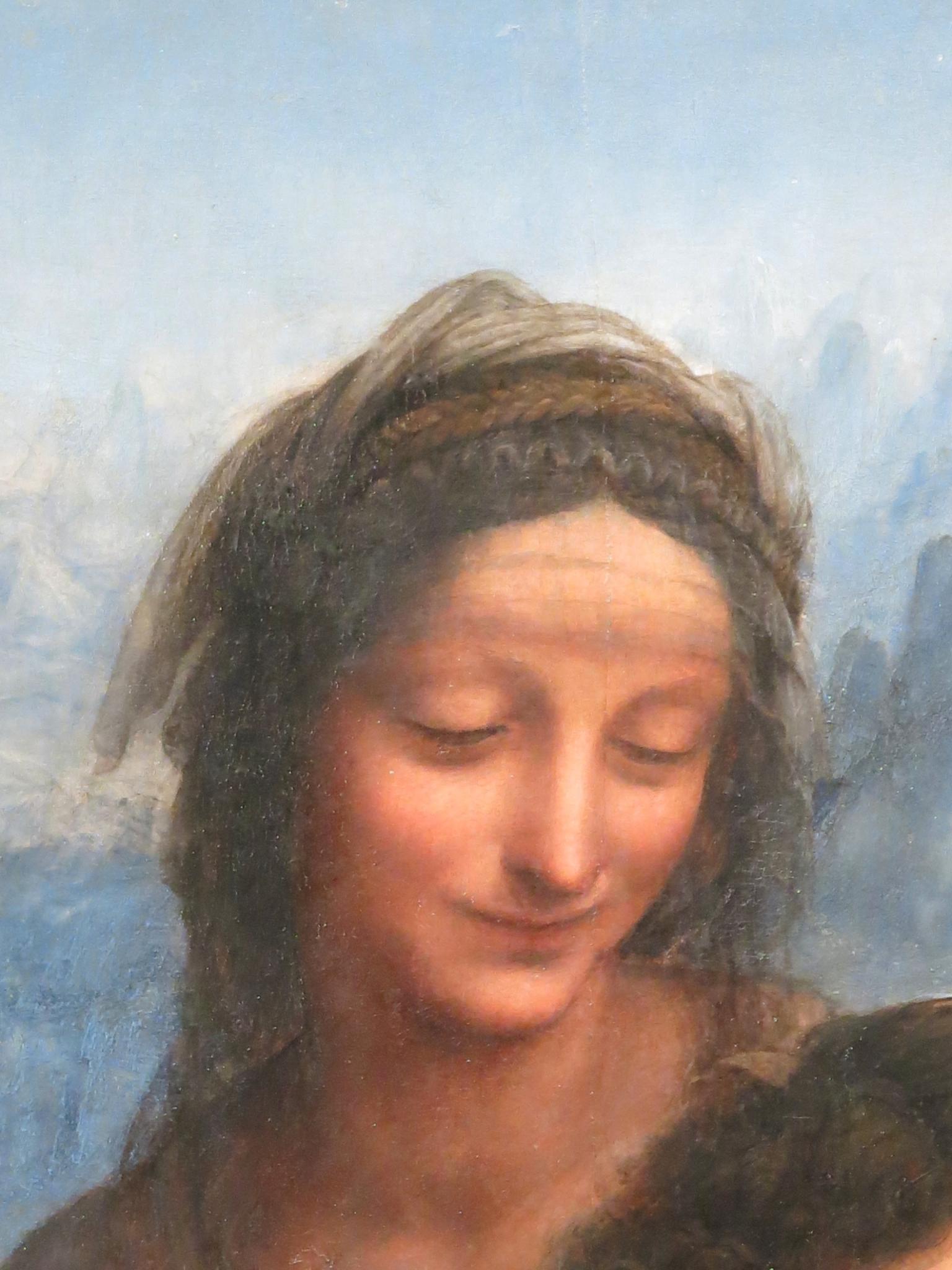 peinture, écriture, marcel Proust, Léonard de Vinci, Louvre