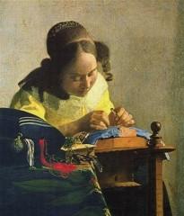 peinture,écriture,vermeer,