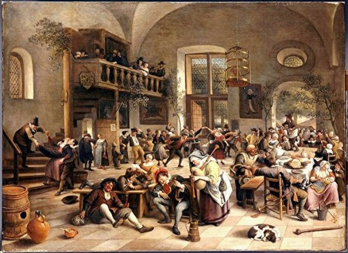 Steen - fêtes dans une auberge- Louvre.jpg