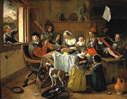 Steen - la joyeuse famille -1668 -Rijksmuseum.jpg