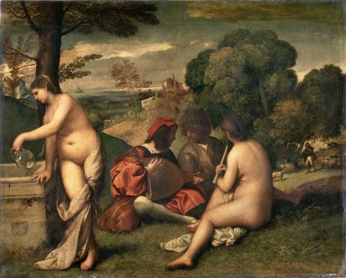 peinture,Titien, impressionnisme