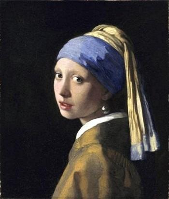 peinture,vermeer,la haye,mauritshuis,jeune fille à la perle