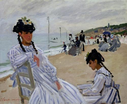 peinture, monet,impressionnisme,trouville,camille