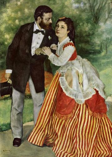 peinture, écriture, sisley, impressionnisme