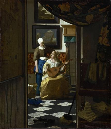 peinture, vermeer, louvre, hollande