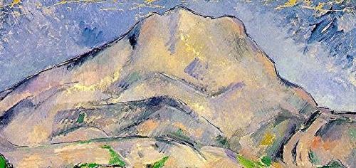 peinture,écriture,cézanne,sainte-victoire,france gall,michel berger