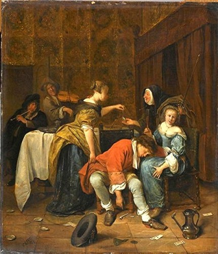 Steen - La mauvaise compagnie - Louvre.jpg
