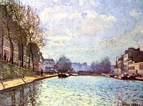 peinture,sisley,impressionnisme