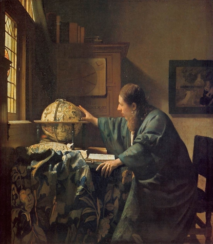 peinture, Vermeer, Hollande, Sciences, Louvre,